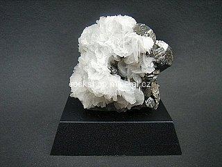 arzenopyrit + kalcit