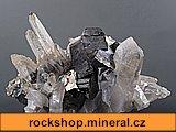 arzenopyrit, křišťál