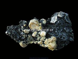 vanadinit + pyromorfit + psilomelan